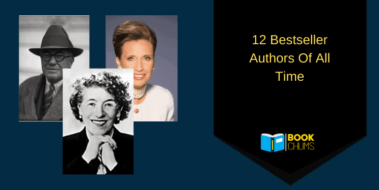 12 Bestselling Authors Of All Time
