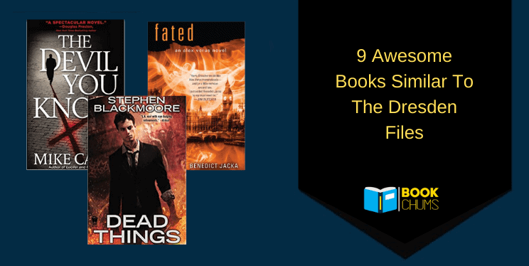 9 Awesome Books like The Dresden Files