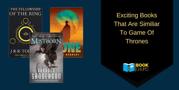 Exciting Books Like Game Of Thrones to read