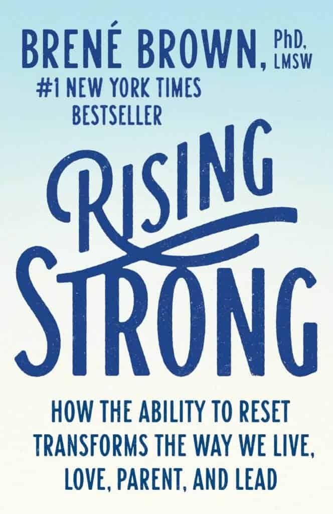 Rising Strong: Best Brene Brown Books